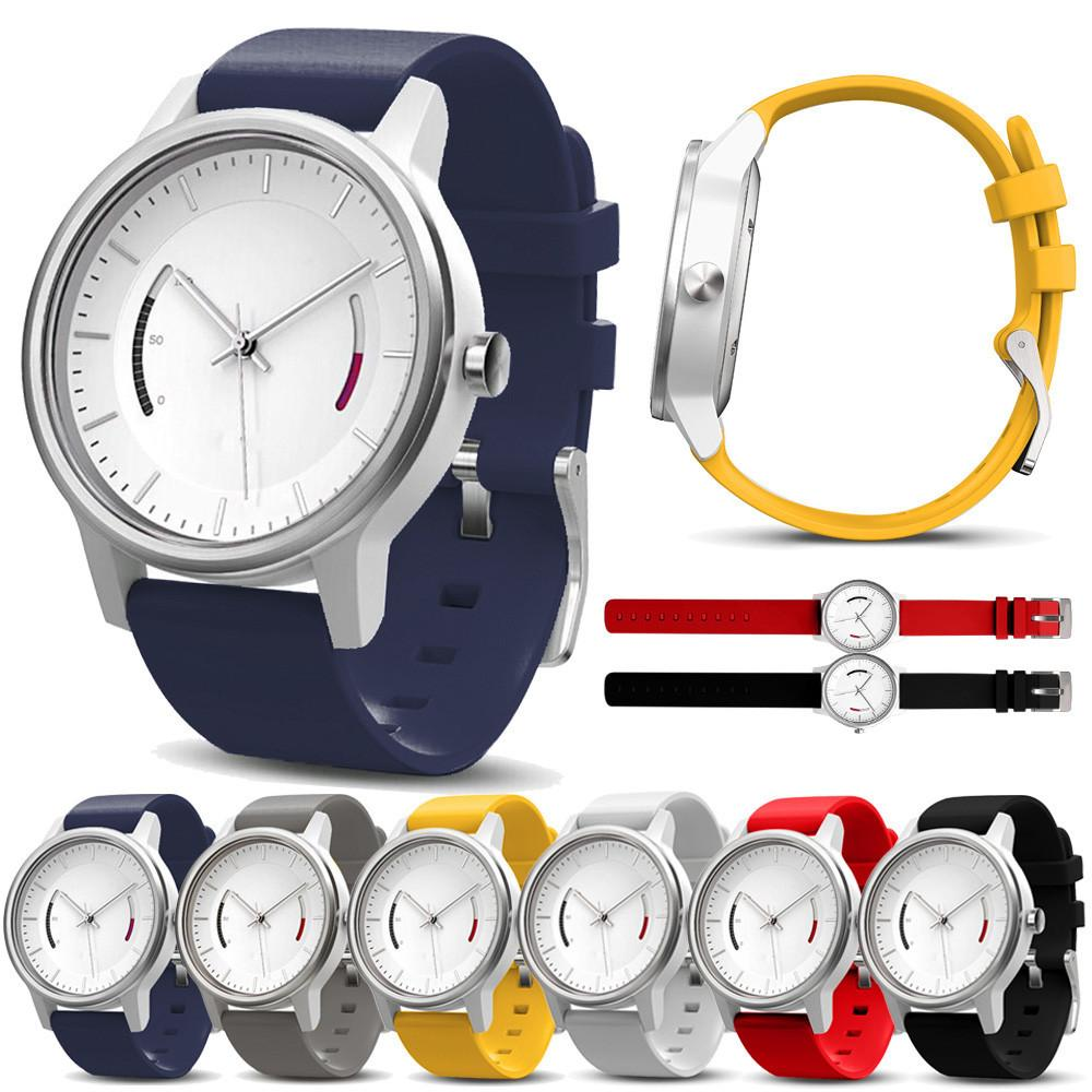 Watch Band 22mm Soft Silicone Strap Replacement Colorful