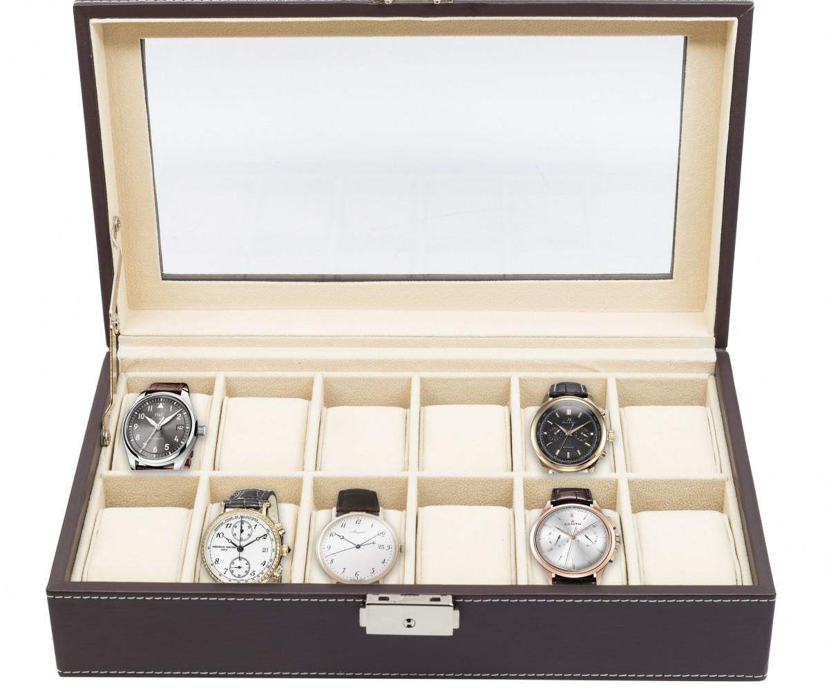 Watch Display Case Perfect Oak Wall Hanging Pocket