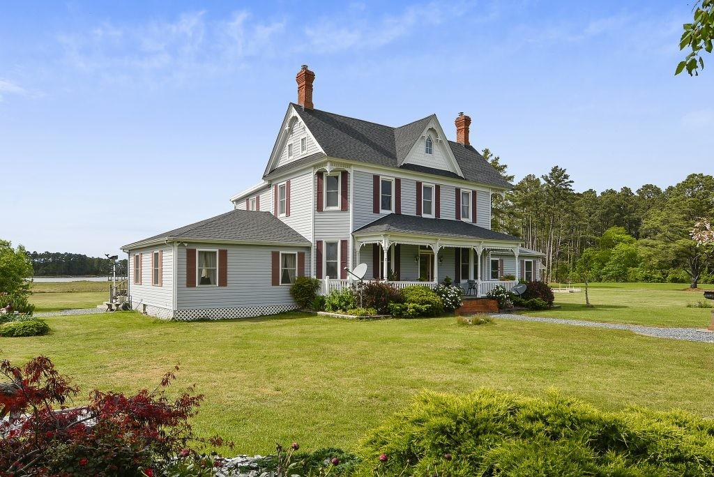Waterfront Retreat House Day Eastern Shore Homes