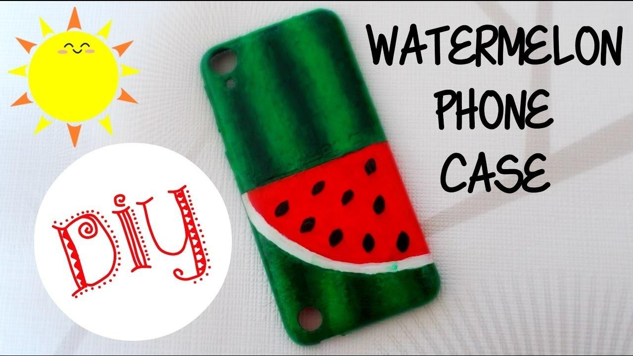 Watermelon Phone Case Summer Craft Easy Diy Project