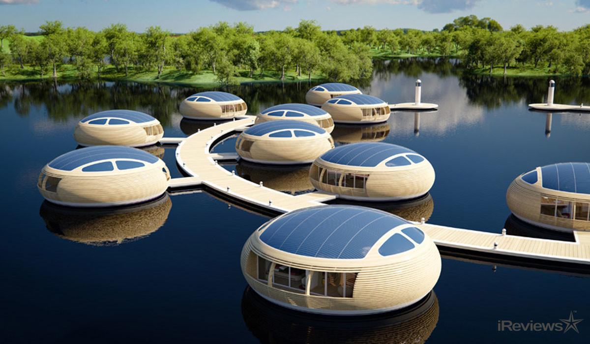 Waternest 100 Eco Friendly Floating Home Ireviews News