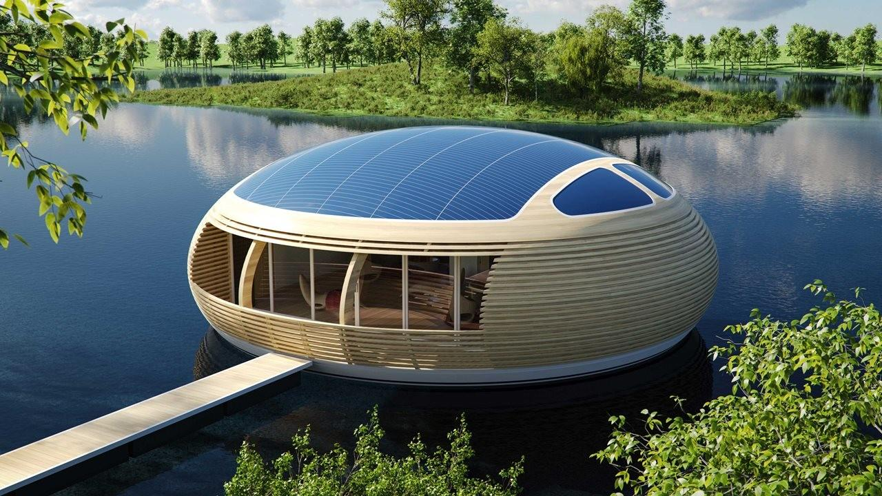 Waternest 100 Floating House Giancarlo Zema