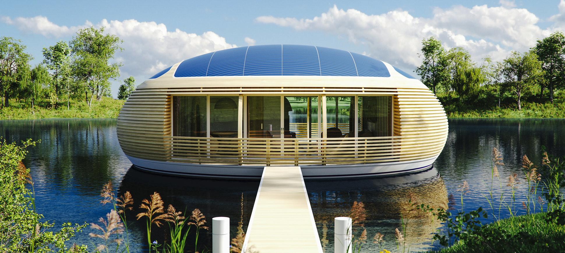 Waternest Floating House Eco Friendly Housing