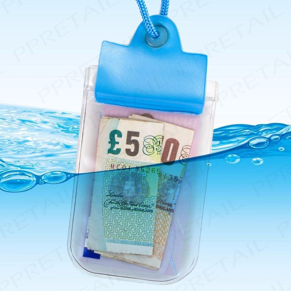 Waterproof Travel Pouch Swimming Card Key Money Dry