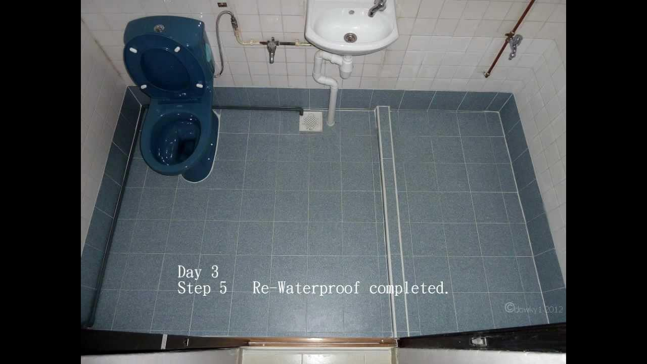 Waterproofing Bath Toilet Floor Singapore Hdb Flat