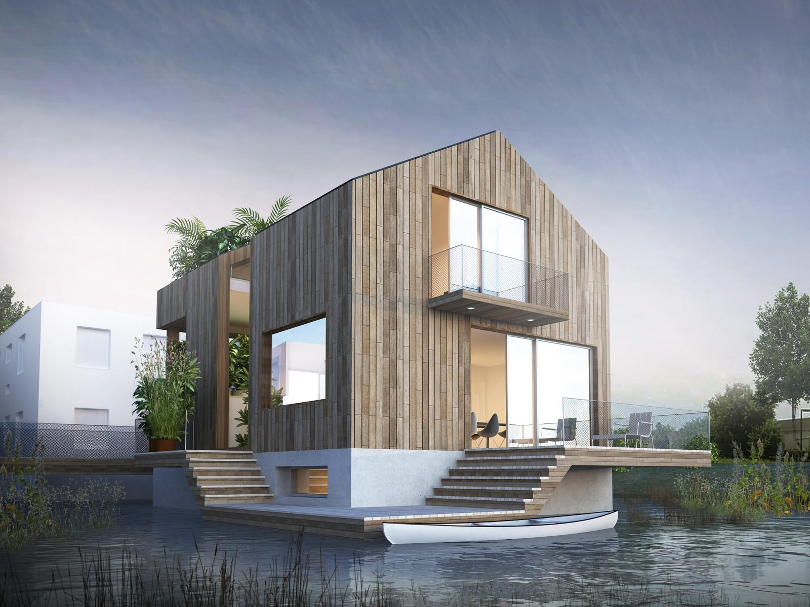 Way Build Floating House