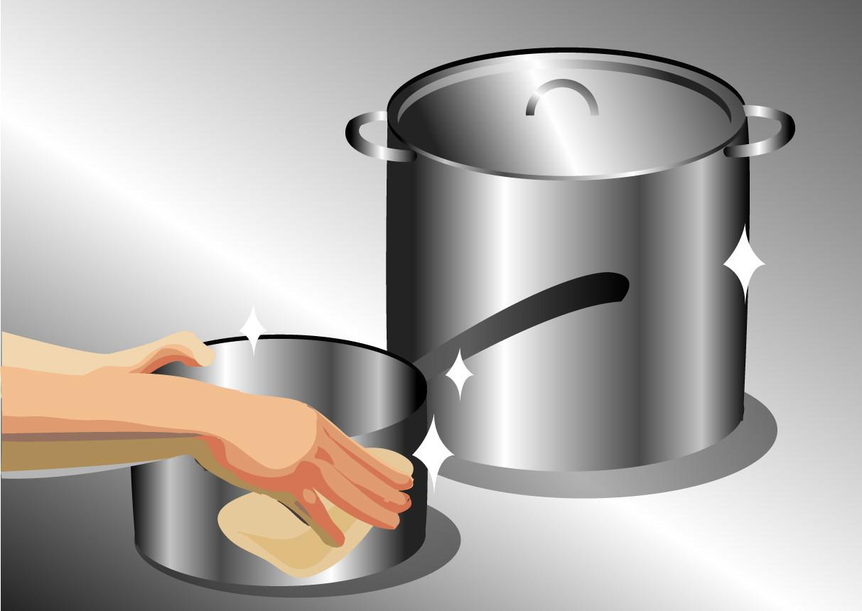 Ways Clean Stainless Steel Cookware Wikihow