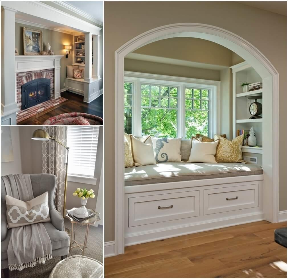 Ways Cozy Reading Nook Comfortable Time