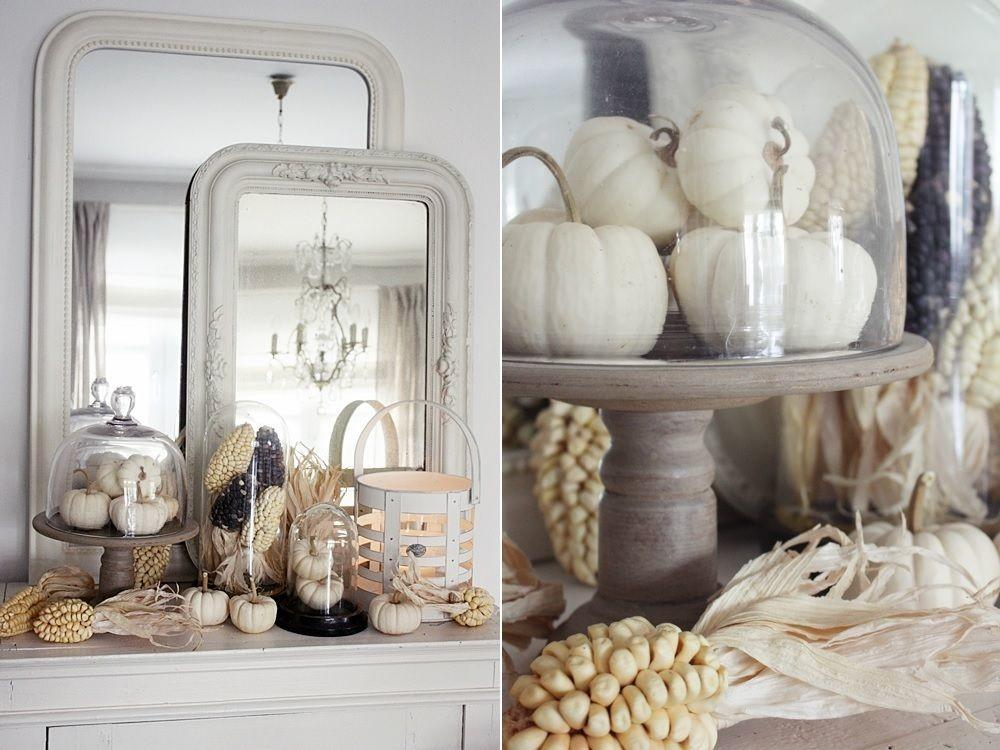 Ways Decorate Thanksgiving Mantel