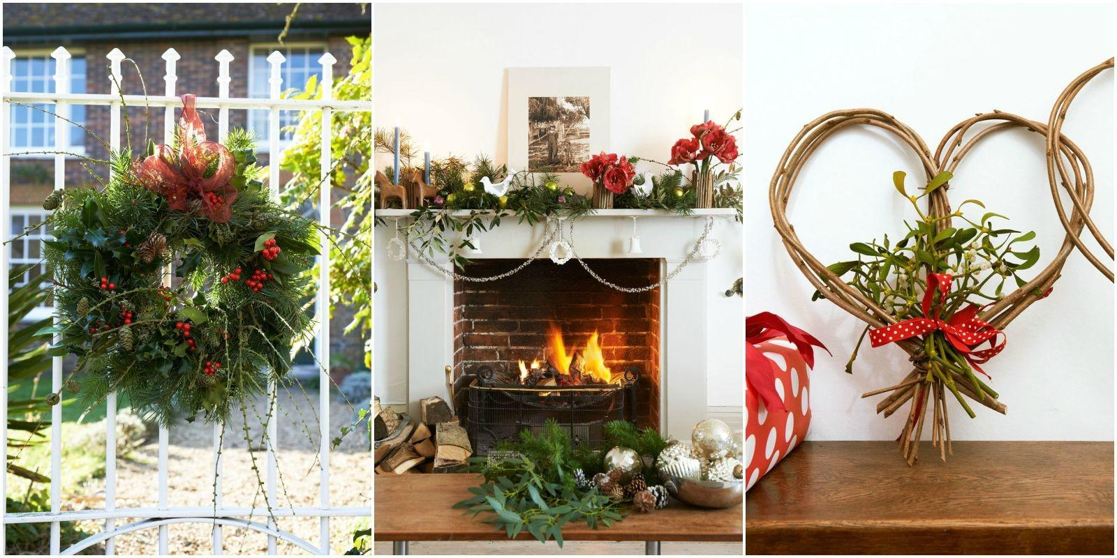 Ways Decorate Your Home Greenery Christmas