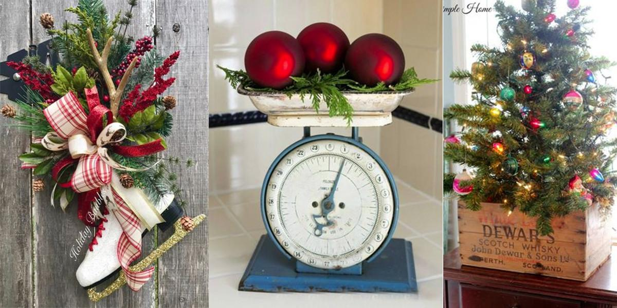 Ways Decorate Your Home Vintage Christmas Finds