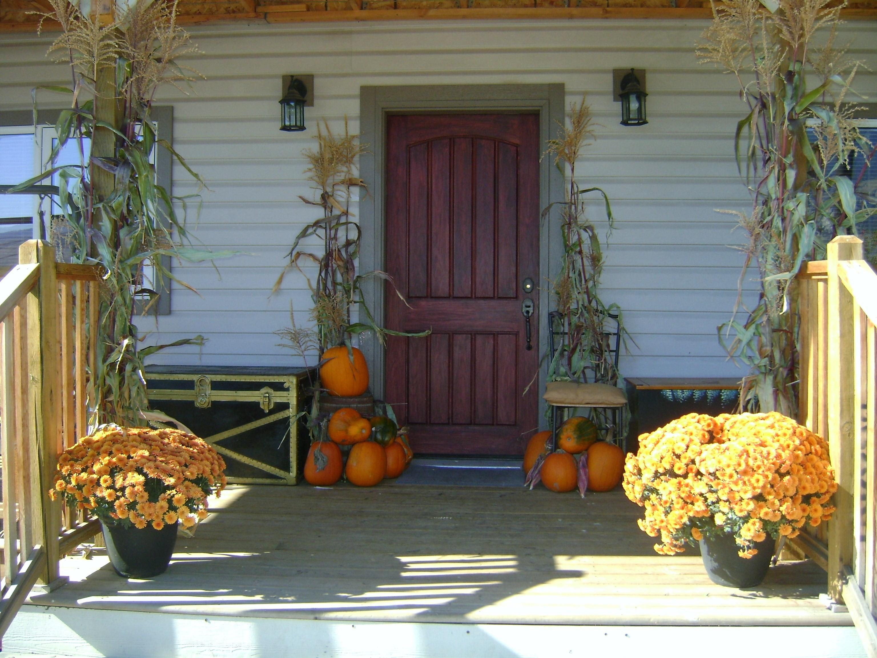 Ways Fall Into Autumn Rich Rust Colored Home