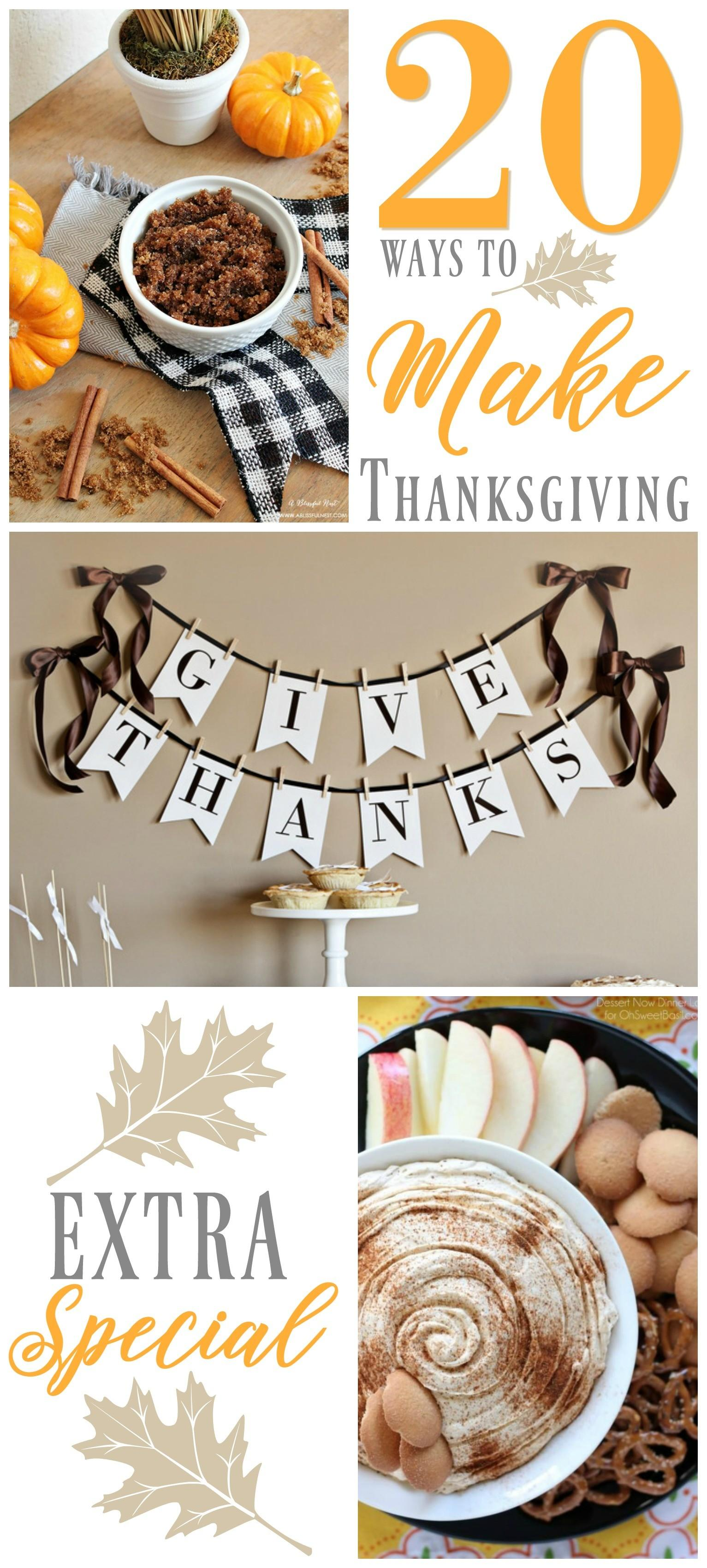 Ways Make Thanksgiving Extra Special Fox Hollow