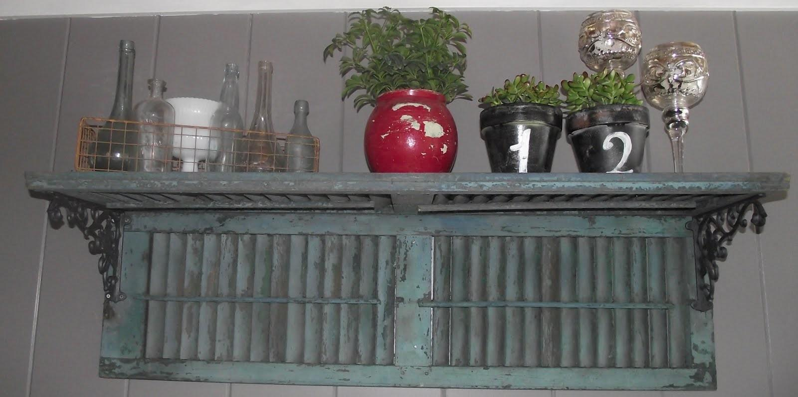 Ways Repurpose Old Shutters Add Vintage Charm