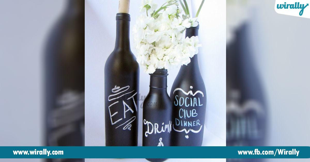 Ways Reuse Decorate Empty Beer Wine Bottles
