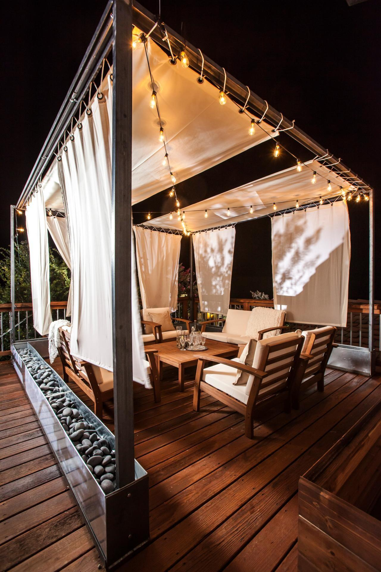 Ways Your Outdoor Space String Lights