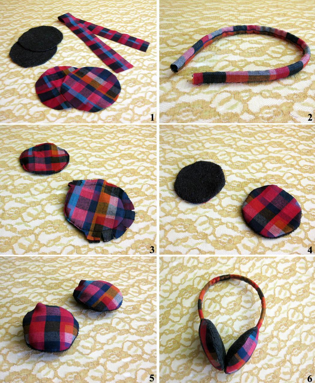 Wear Canvas Diy Fri Easy Ear Muffs
