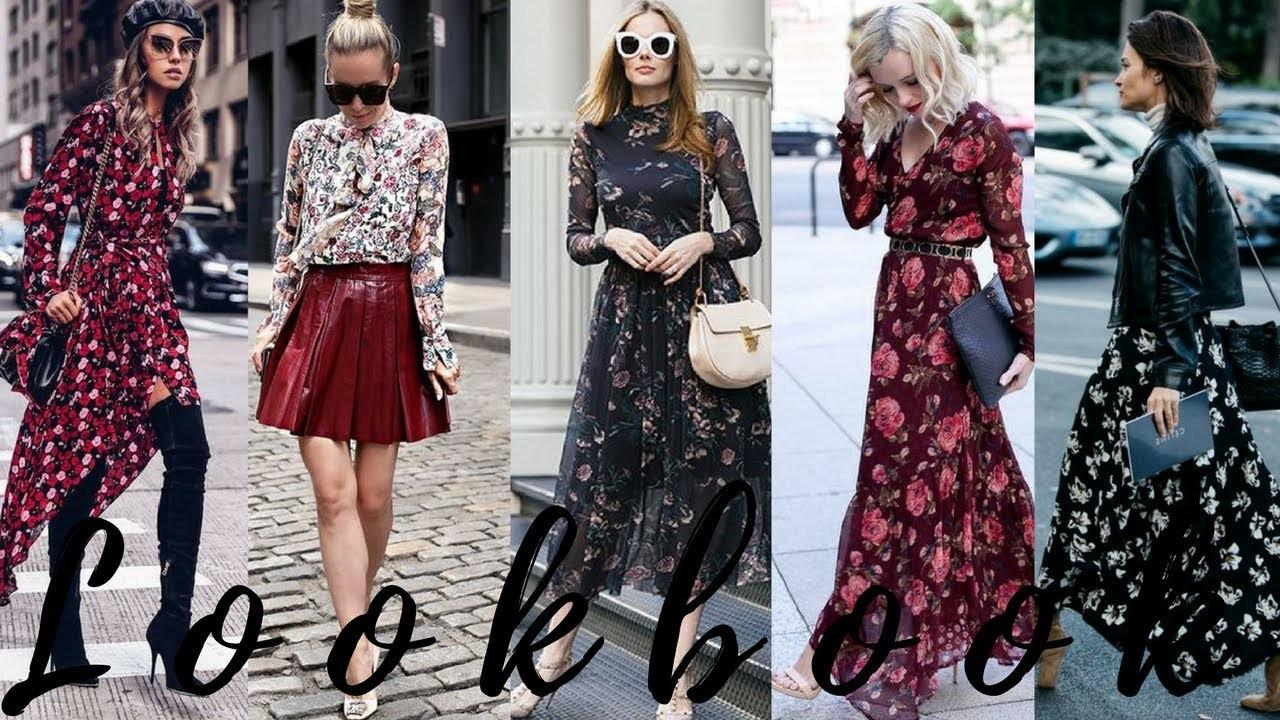 Wear Fall Florals 2017 Winter 2018 Fashion