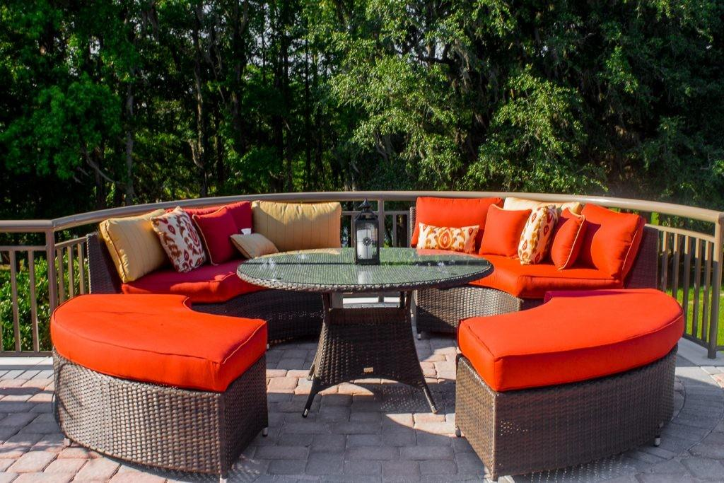 Weather Resistant Patio Furniture Roselawnlutheran Decoratorist 136931