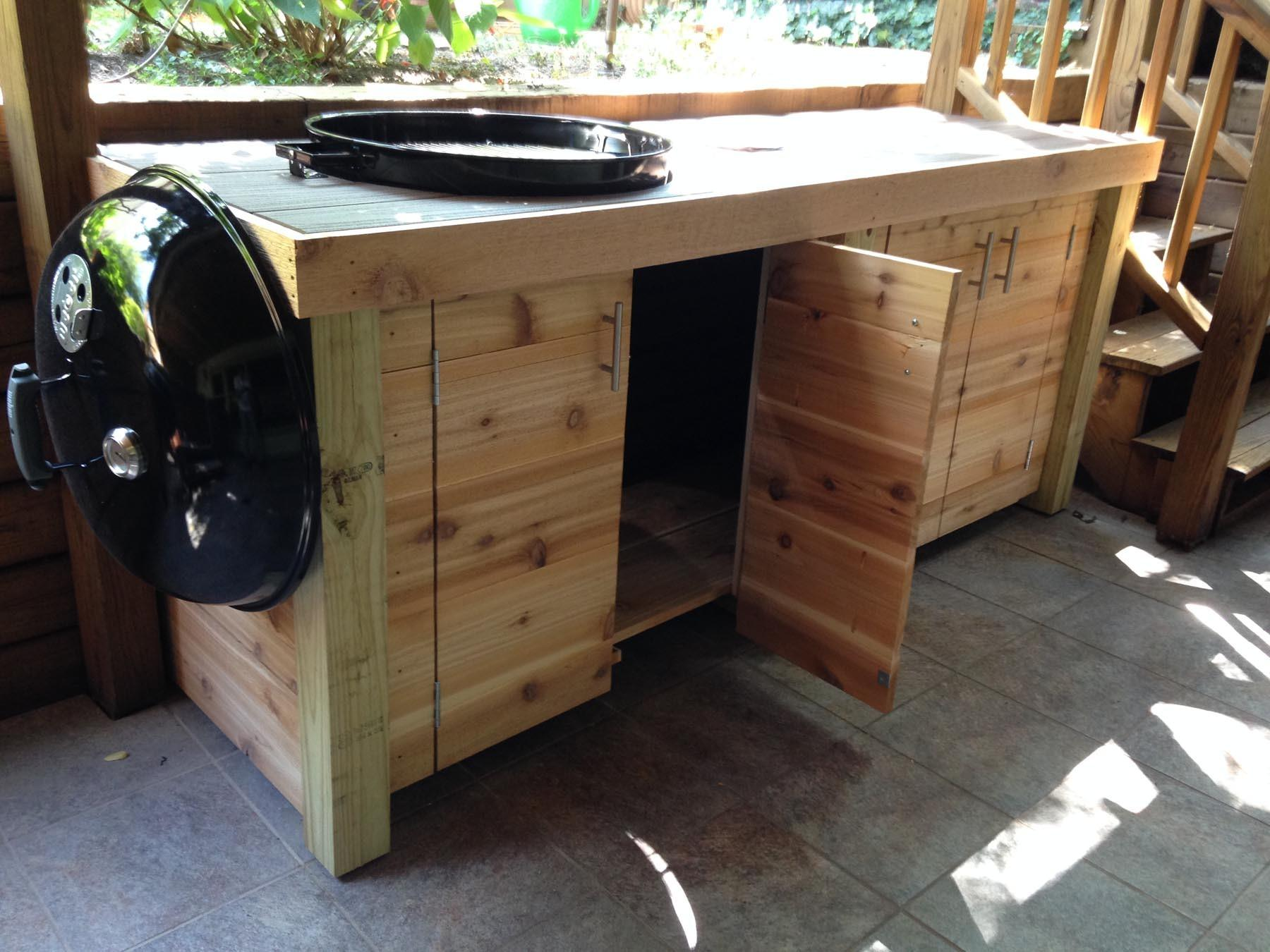 Weber Grill Cabinet2 Jed Buxton Design Build