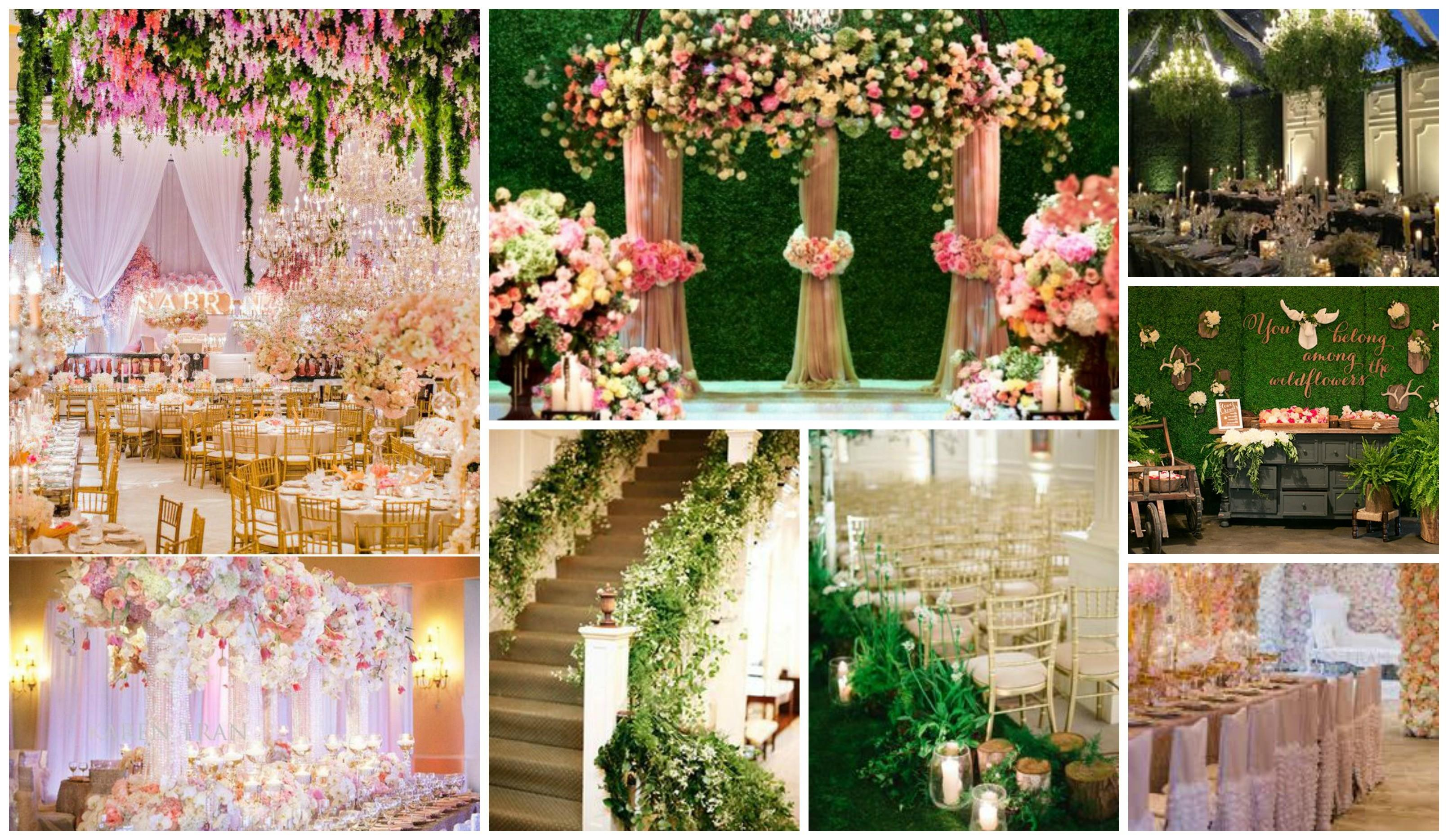 Wedding Decor Garden Theme Stages Themed Simple