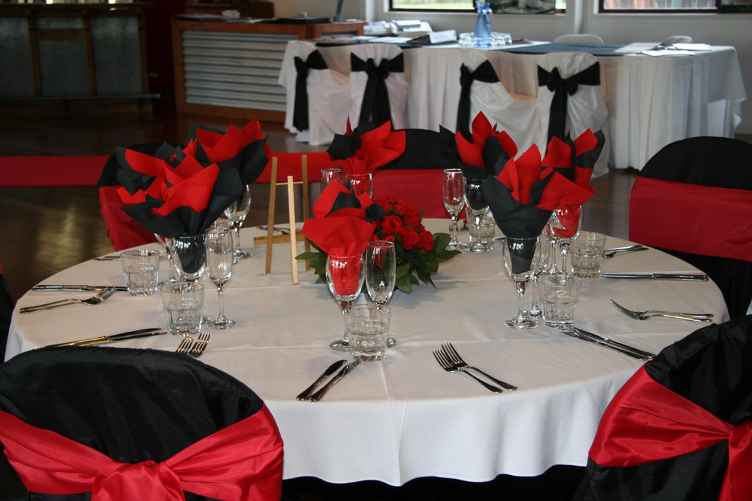 Wedding Decoration Ideas Red White Nice