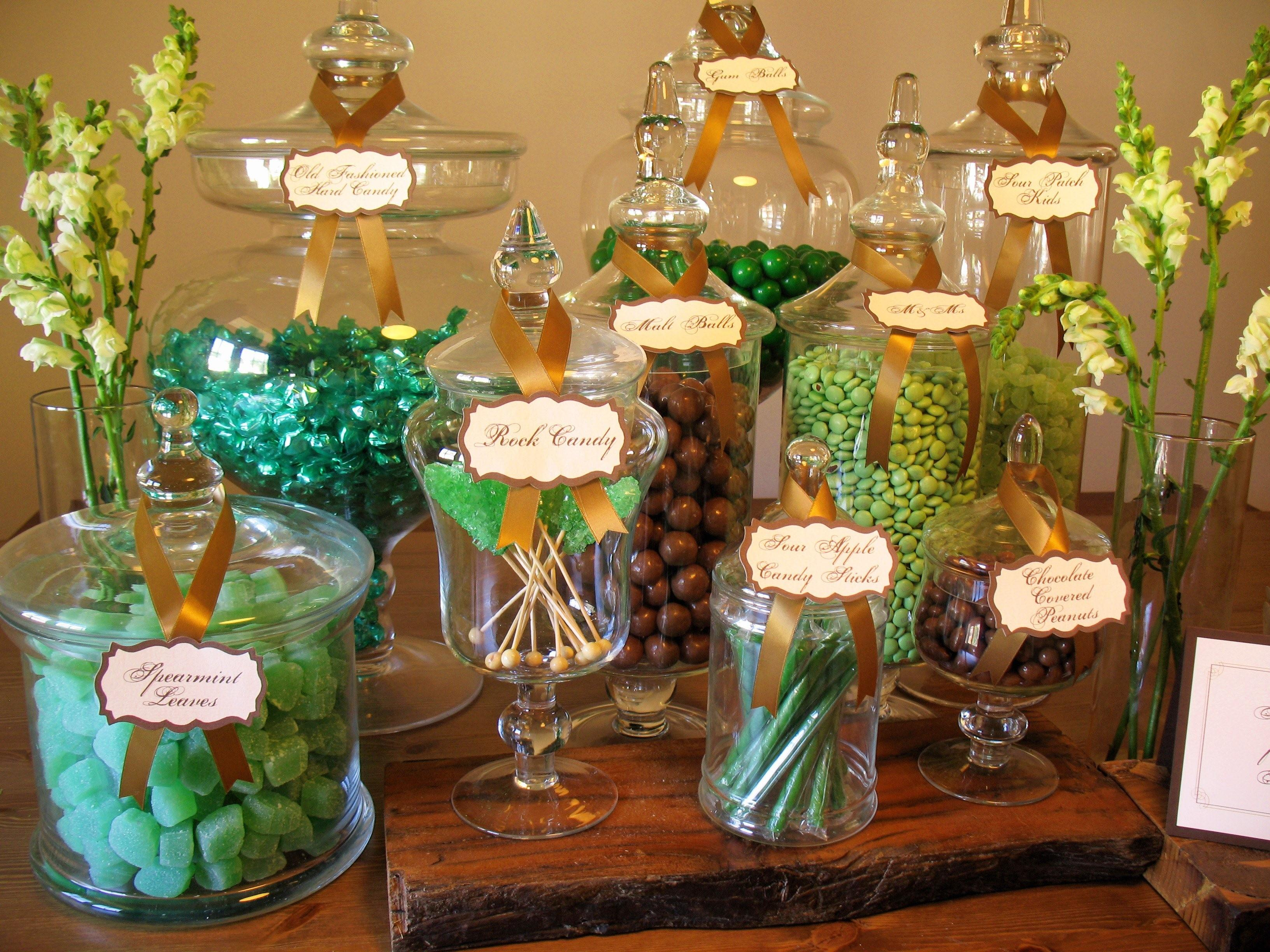 Wedding Decorations Josie Glass Apothecary Candy Lolly Jar