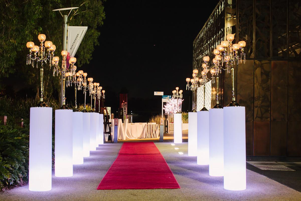 Wedding Entrance Outstanding Lightning Cor Ideas