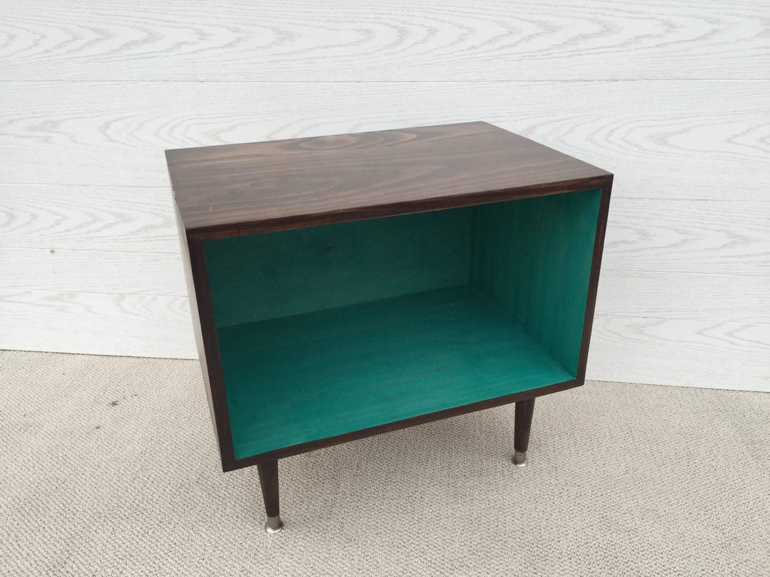Wee Record Player Stand Mid Century Modern Cabinet