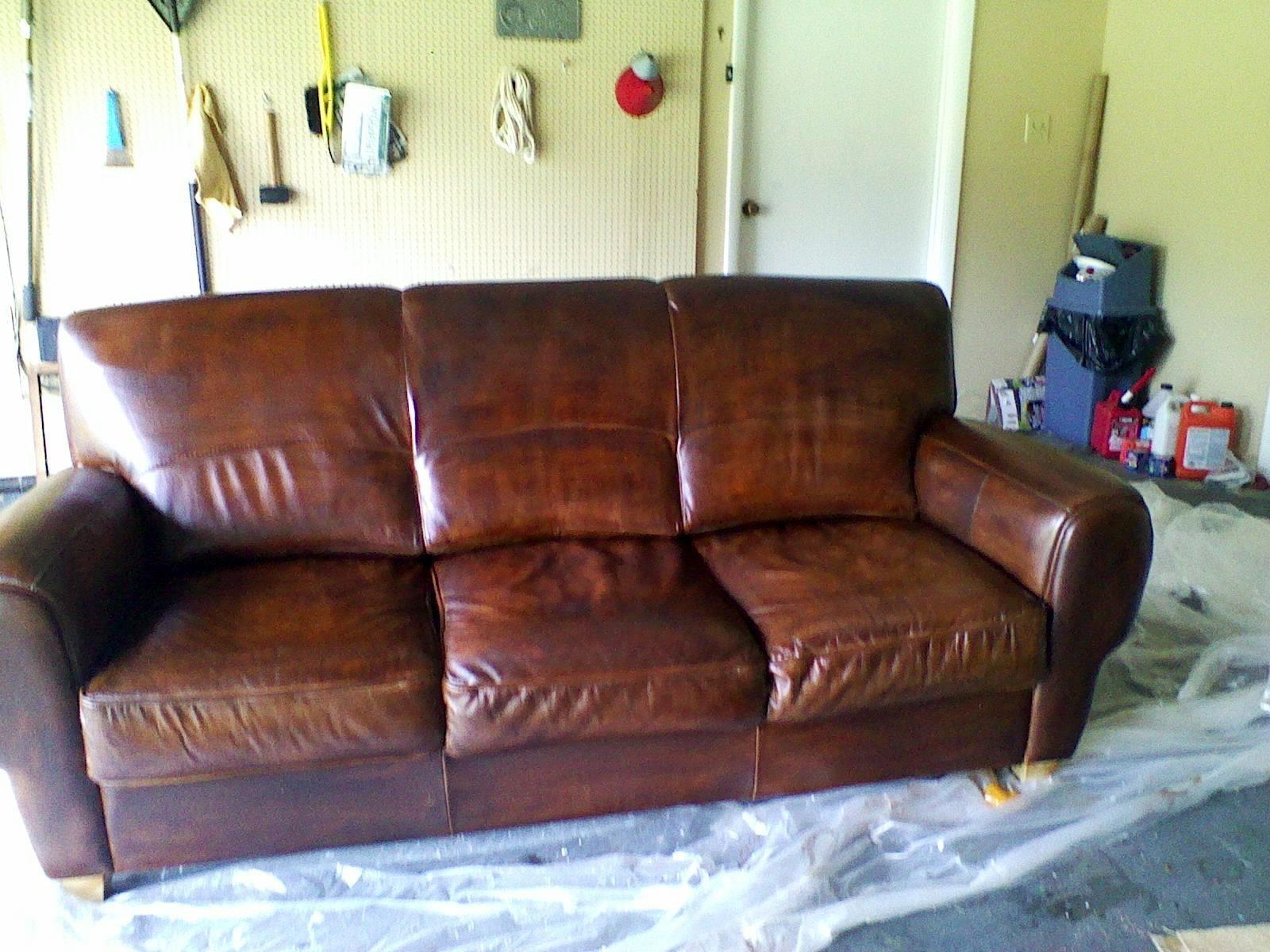 Weeds Dye Stain Leather Furniture