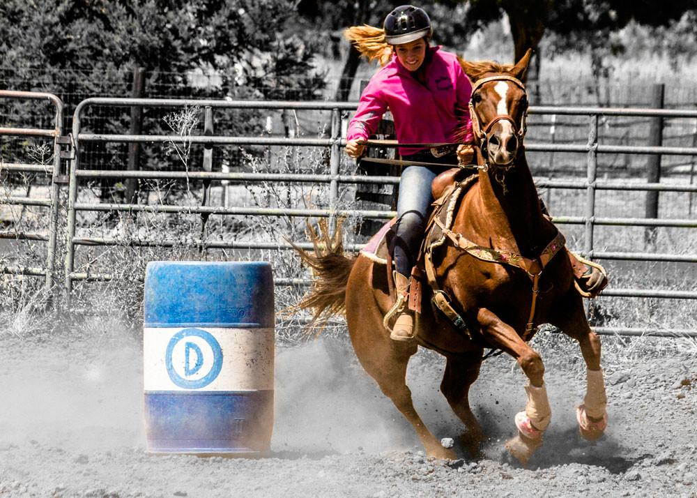 Weekly Barrel Racing Workout Can