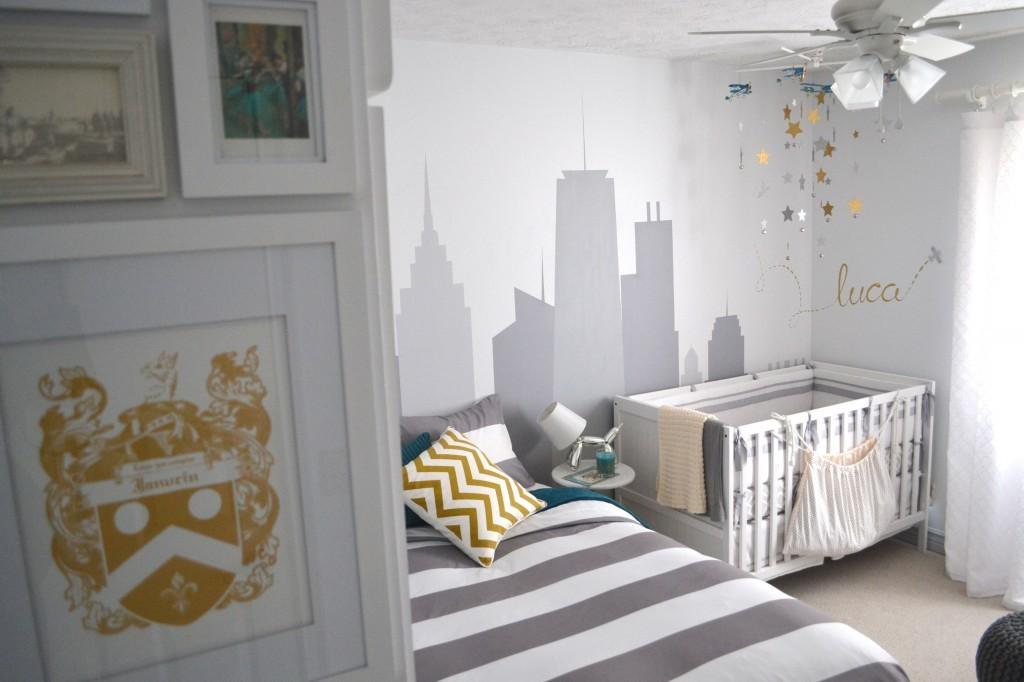Welcome Home Nursery Guest Room Design Project