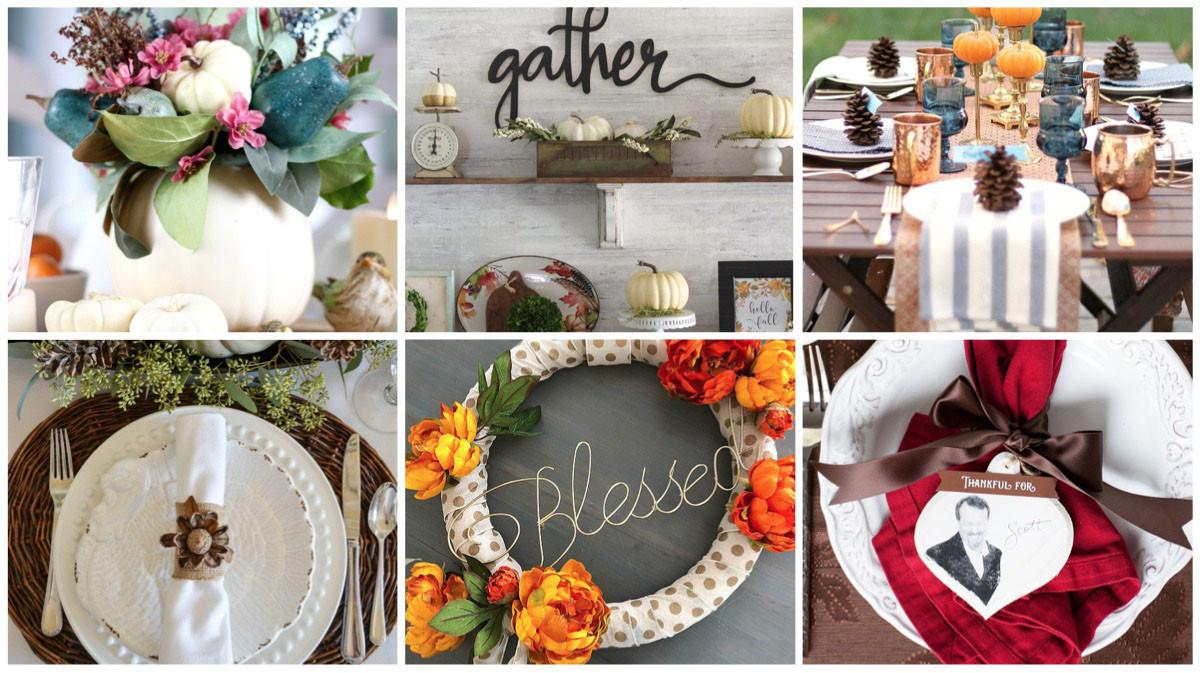 Welcoming Diy Thanksgiving Decor Tidymom