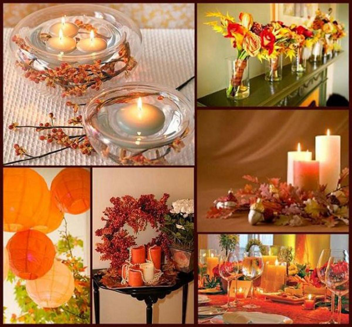 Welcoming Orange Autumn Decoration Iroonie