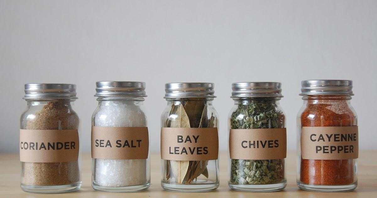 Well Okay Simple Diy Spice Jars