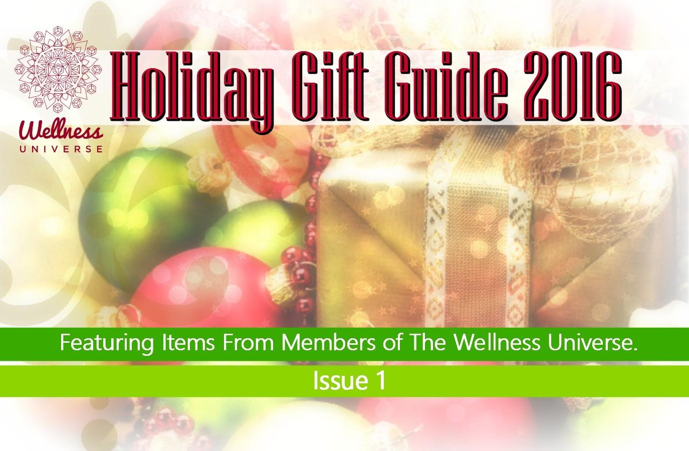 Wellness Universe Holiday Gift Guide 2016 Issue