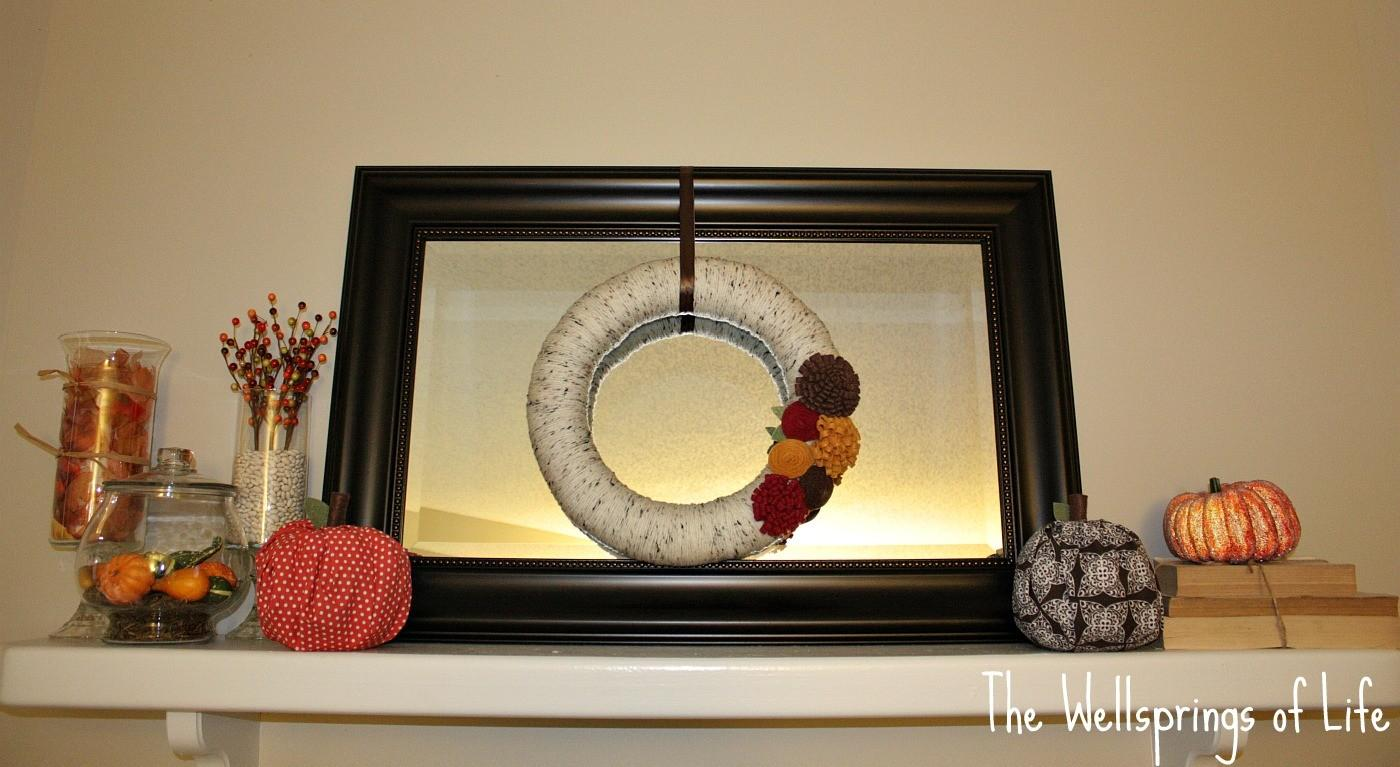 Wellsprings Life Fall Mantel Diy Projects
