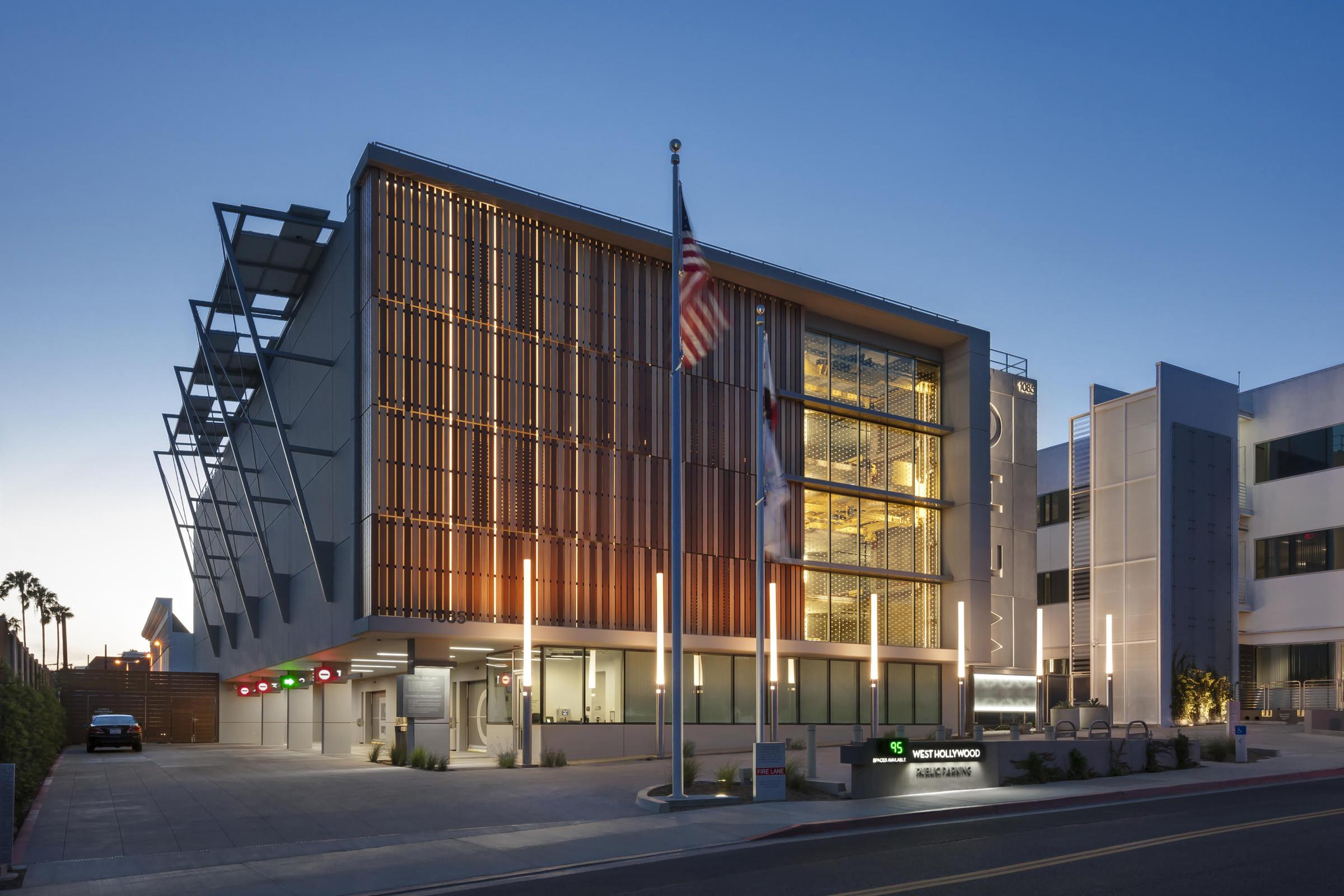 West Hollywood Debuts Automated Parking Garage Designed
