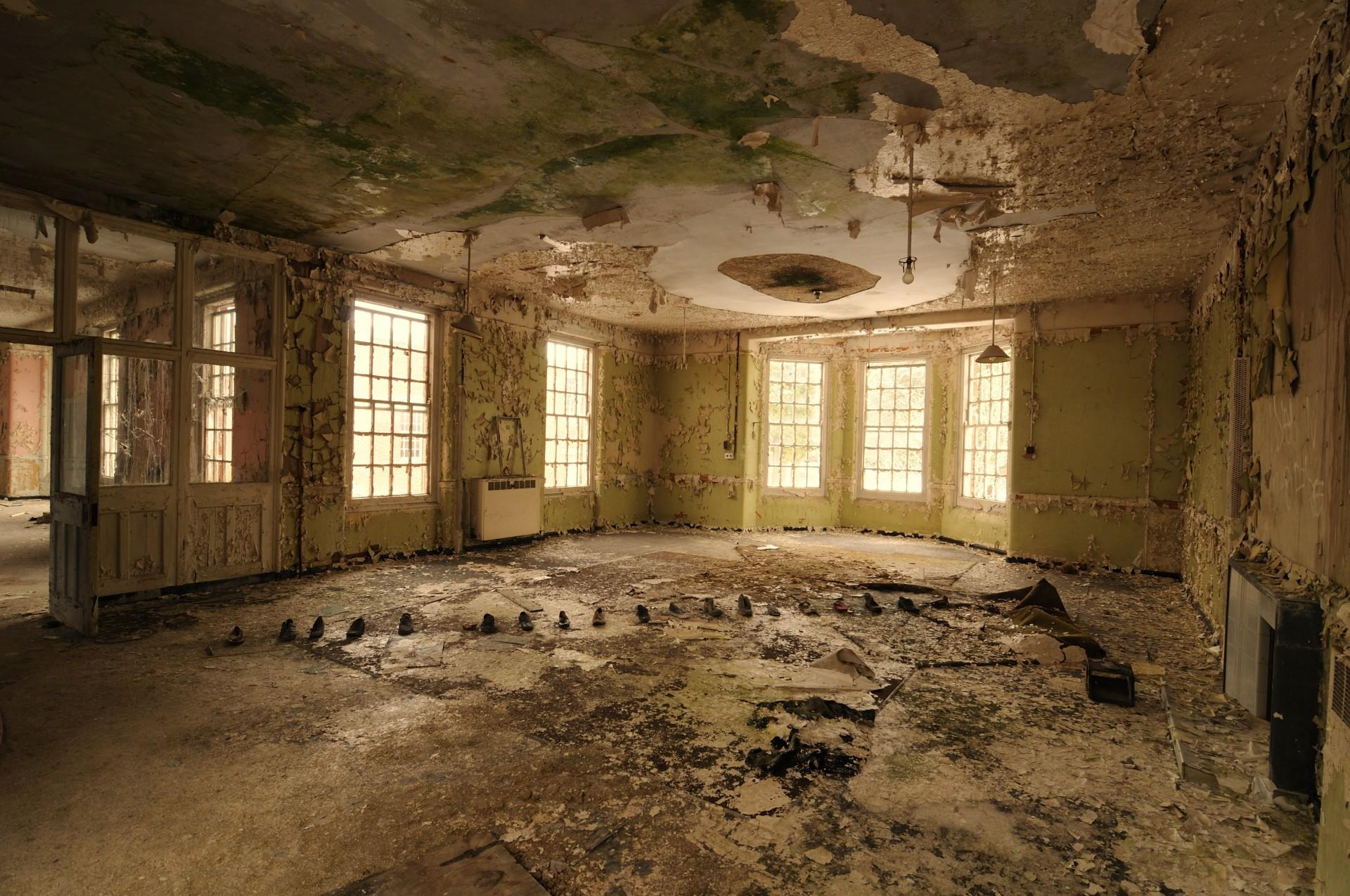 West Park Asylum David Baker Documentary Photographer