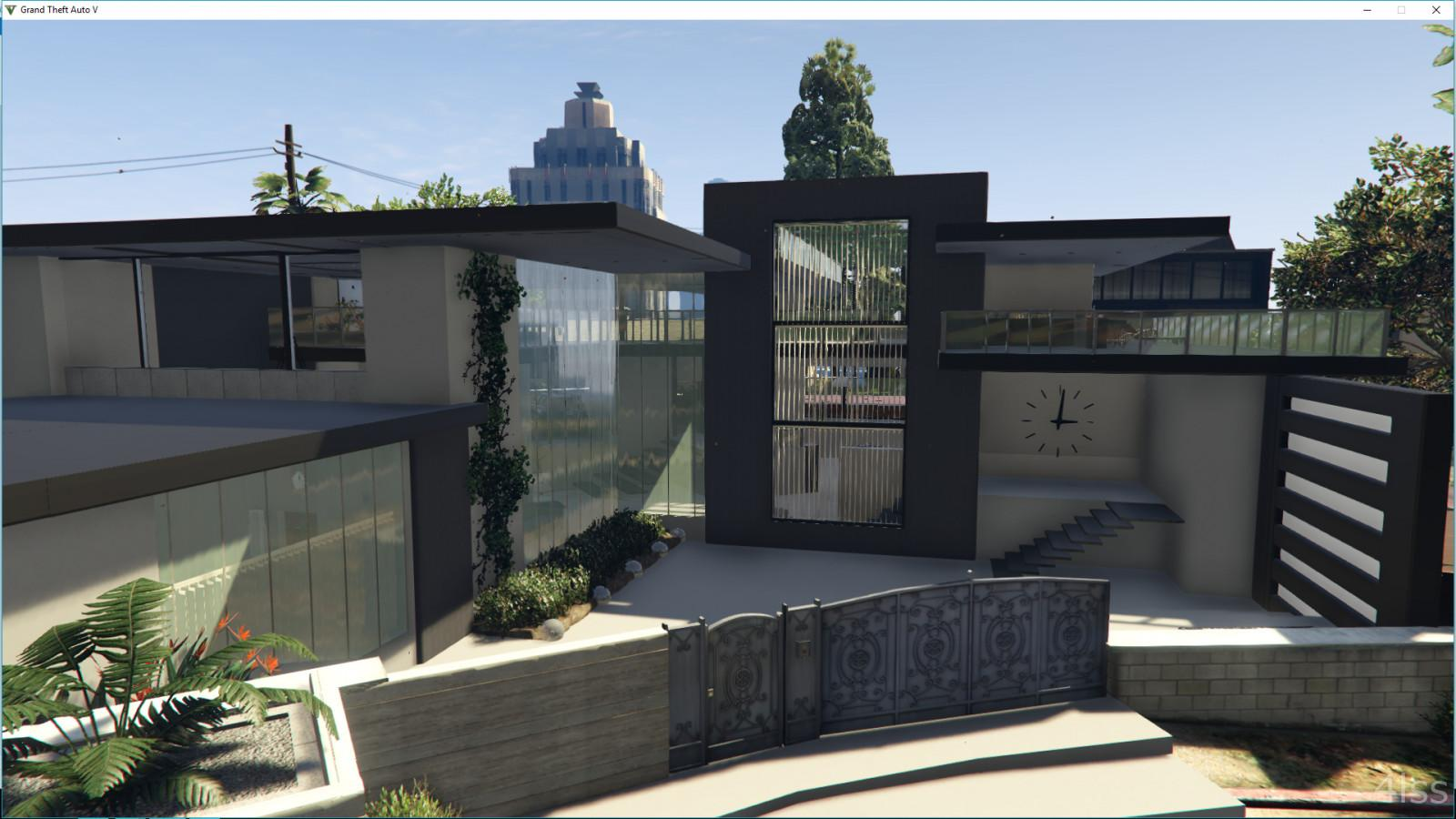 West Vinewood Modern House Gta5 Mods