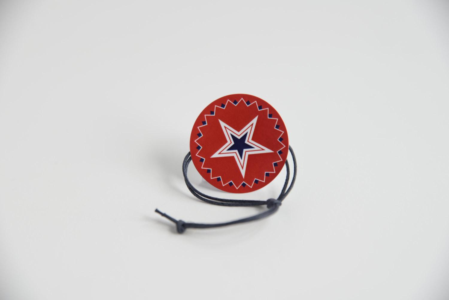 Western Star 4th July Napkin Ring Qty