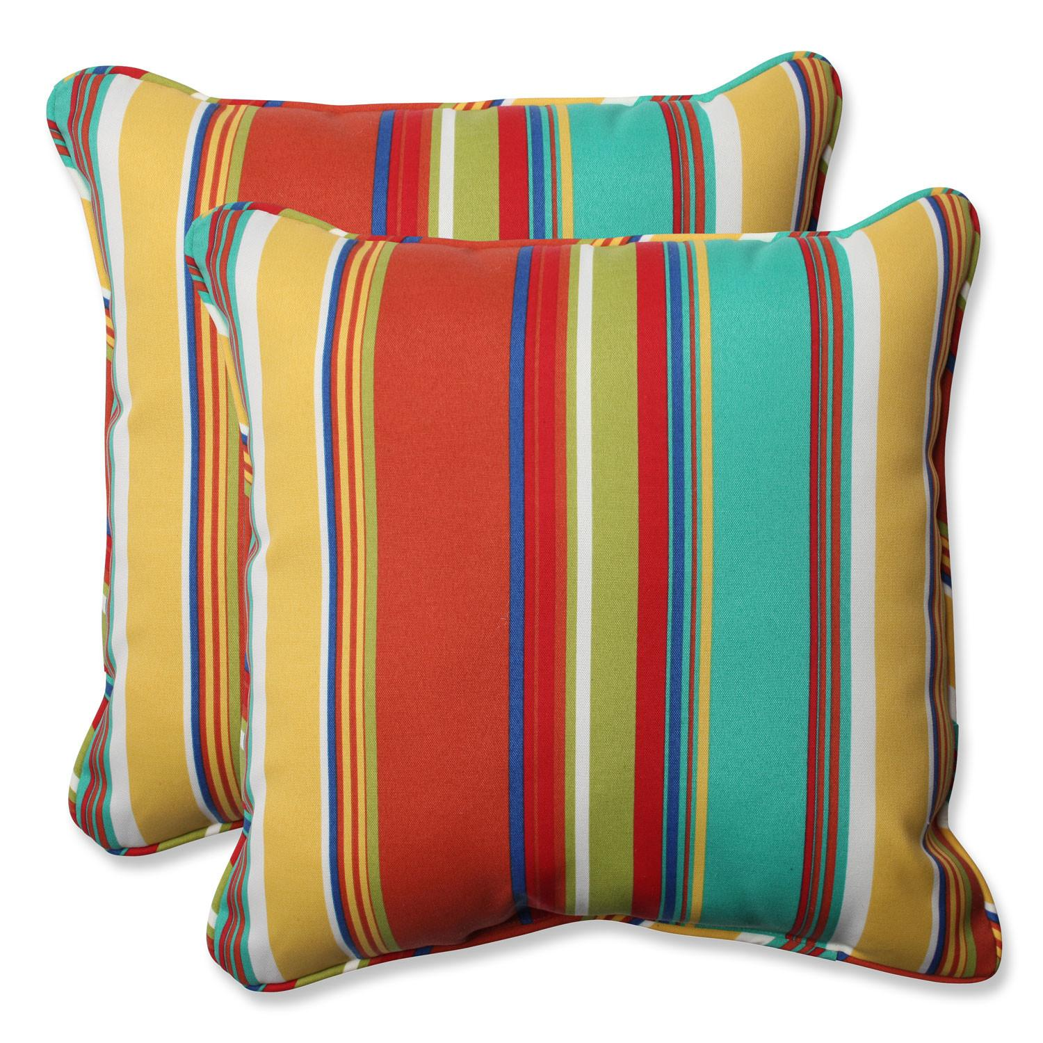 Westport Spring Inch Outdoor Throw Pillow Set