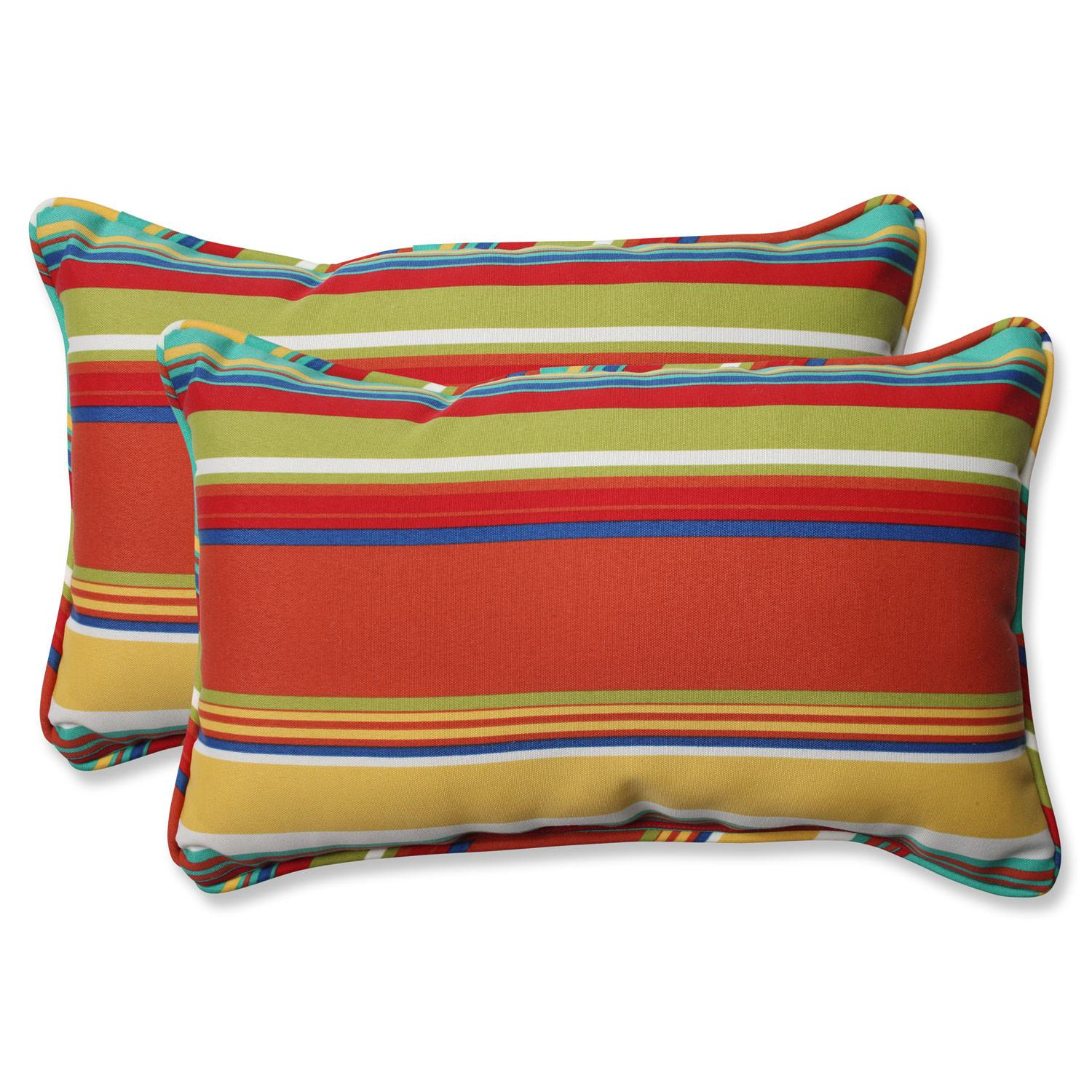 Westport Spring Rectangular Outdoor Throw Pillow Set