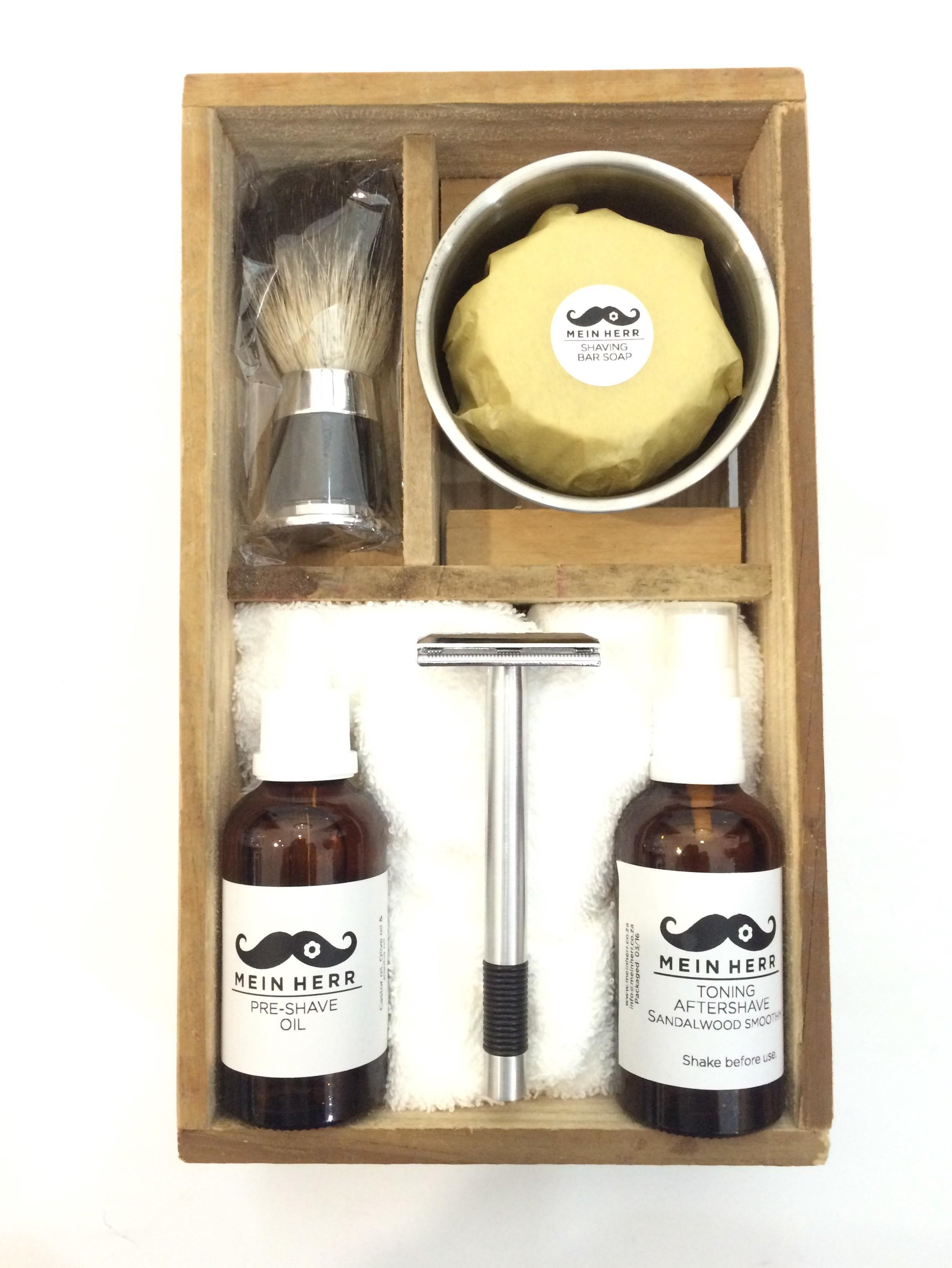 Wet Shaving Set Mein Herr Natural Products