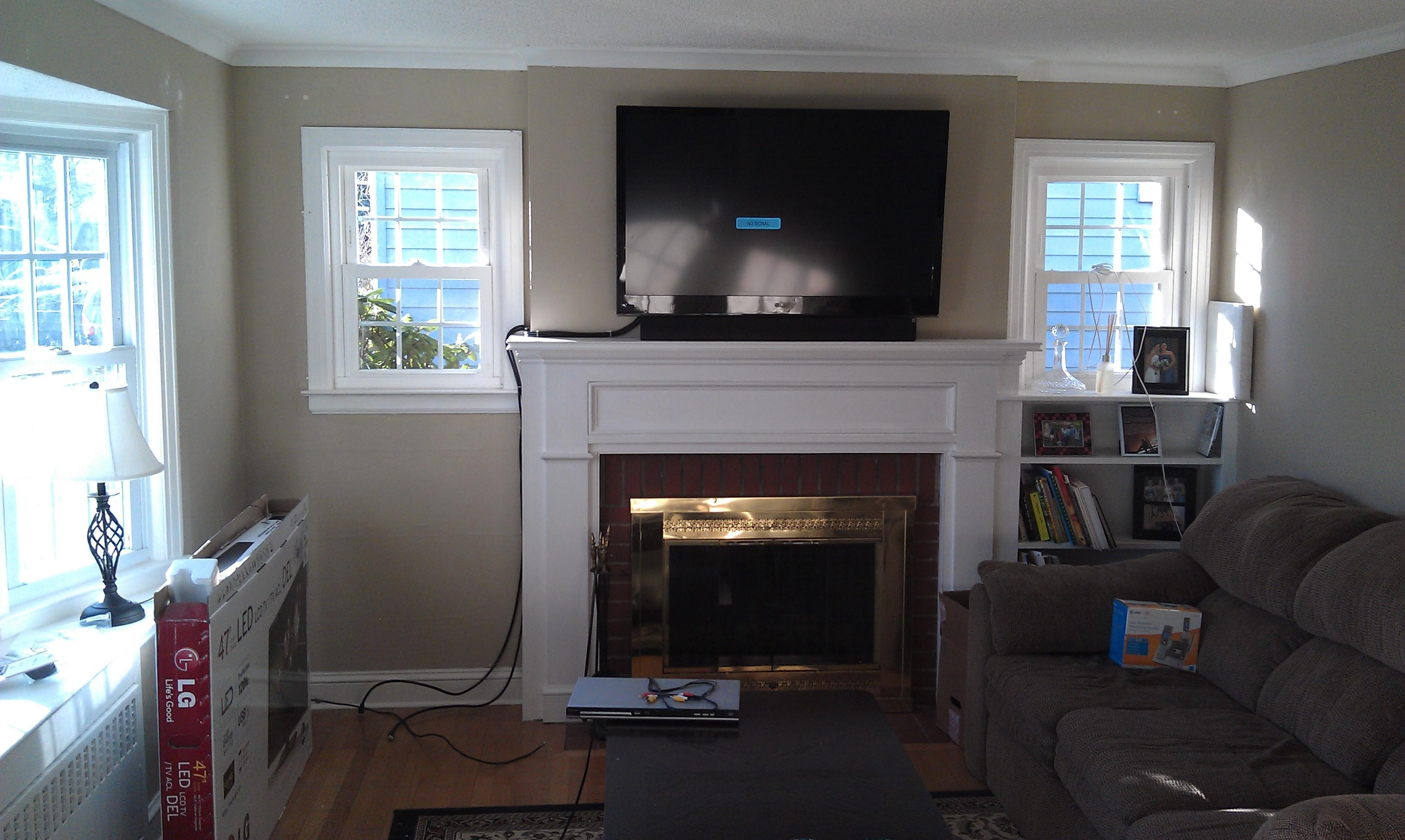 Wethersfield Mount Above Fireplace Home Theater
