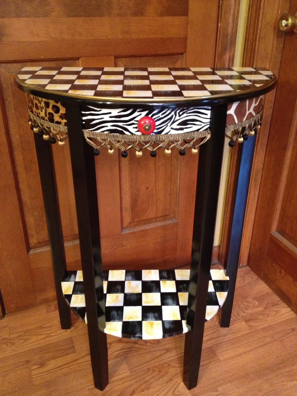 Whimsical Painted Furniture Hand