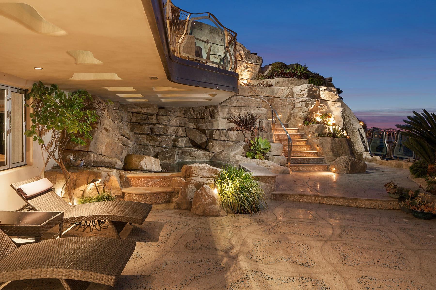 Whimsical Rock House Laguna Beach Idesignarch