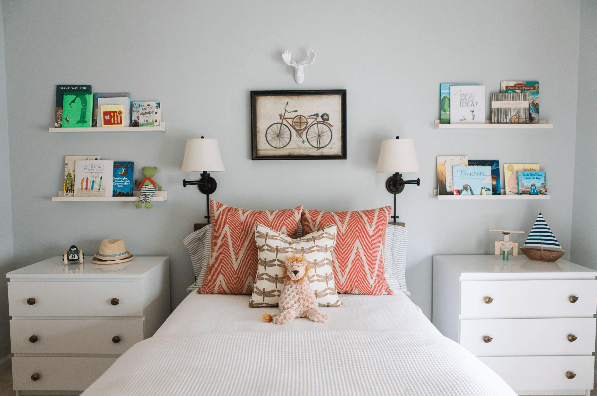 Whimsical Ways Add Color Kids Room Interior