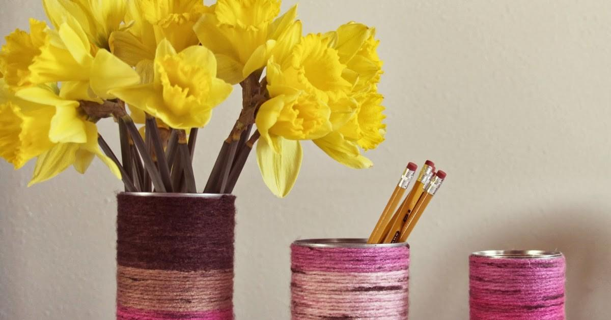 Whimsy Love Diy Yarn Wrapped Vase