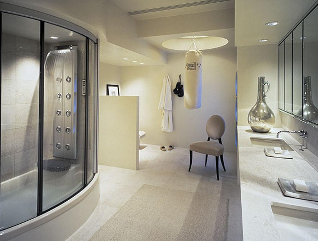 White Bathroom Interior Design Luxury